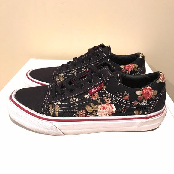 5c8a4707f3 VANS Old Skool Floral Black. M 58a5789ceaf030a27c06685e