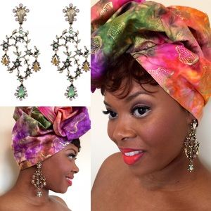 Luxurious Glam Chandelier Lightweight Earrings