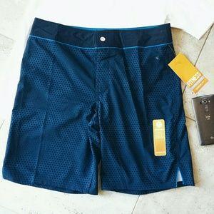 Speedo Other - {Speedo} packable blue swim shorts