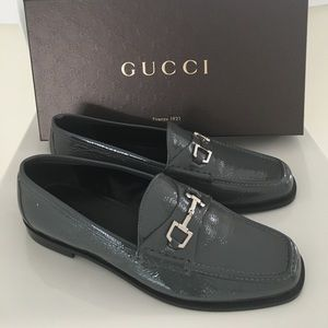 New Gucci women Banks loafer with Buckle