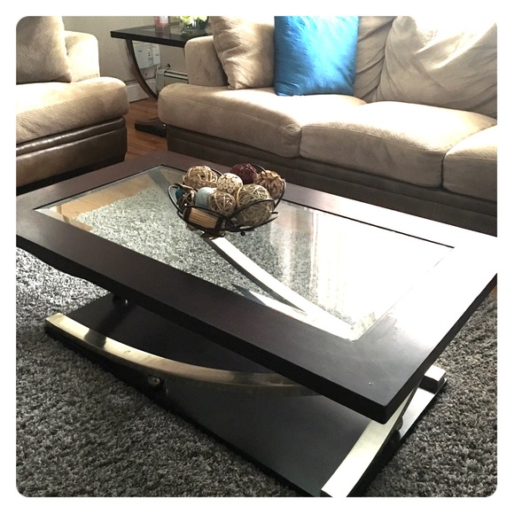 Other Cosmo Coffee Table With Cosmo End Table Poshmark