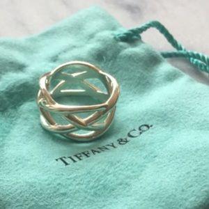 Tiffany & Co. Jewelry - Tiffany & Co. Braided Crisscross Ring