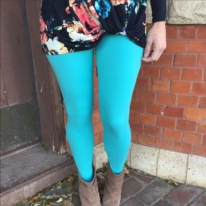 Infinity Raine Pants - 💕Mint Blue Leggings