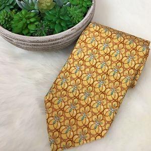 Ermenegildo Zegna Other - • Ermenegildo Zenga • 100% Silk Tie Italy Yellow