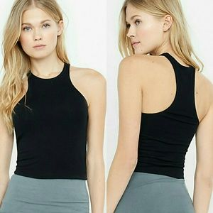 Boutique  Tops - ONE LEFT Host Pick! NWT high cut crop top tank top