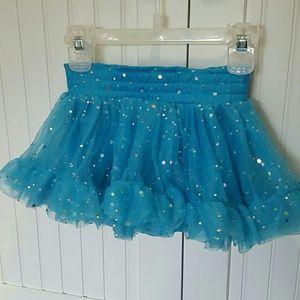 Beautees Other - Sparkly Blue Girls Skort