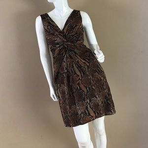 🐯NWT Ellen Tracy Animal Print Dress