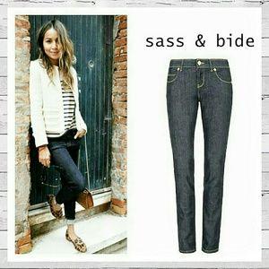 sass & bide Denim - Sass & Bide Australia Skinny Jeans Like New! Sz 27