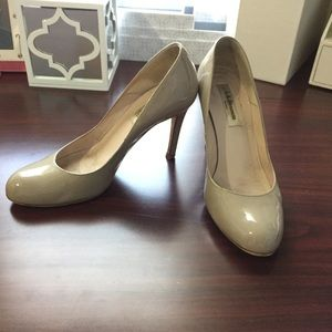 LK Bennett Shoes - Lk bennett l.k. Taupe gray neutral shilo pumps 36