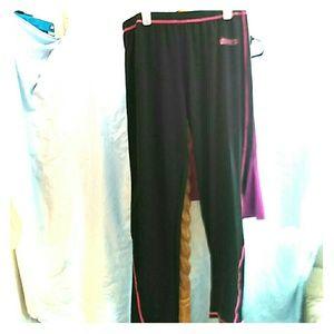 Rocky Pants - NWOT Rocky Super Stretchy Leggings Black/pink