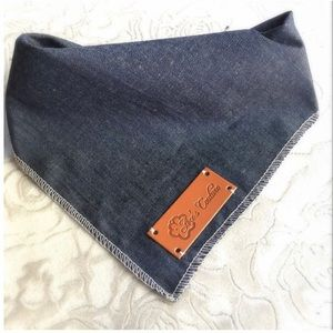 Ace's Couture Other - Denim Bandana Size Small