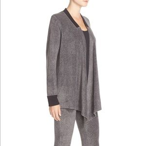 DKNY lounge leggings set with open cardigan