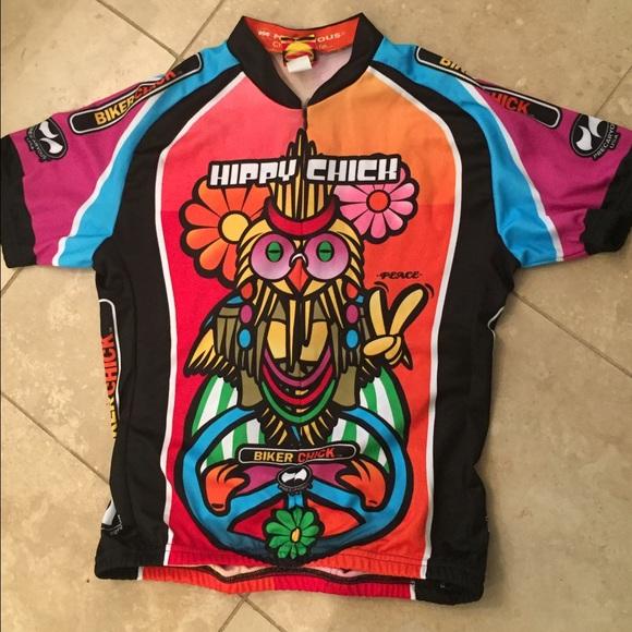 73c60fe12 World Jerseys Tops - World Jerseys cycling Happy Chick shirt