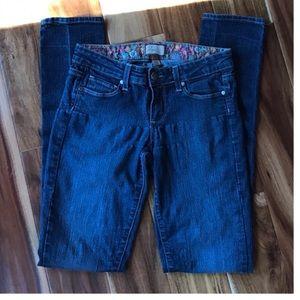 """Paige """"Peg Skinny"""" Jeans"""