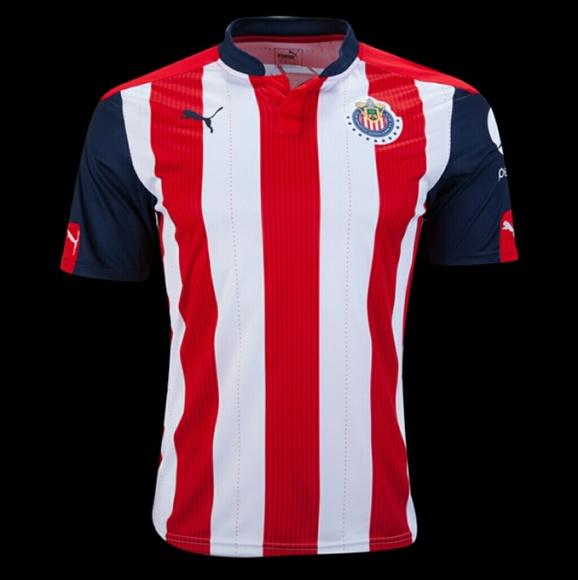 7bd0b32cefe Chivas de Guadalajara Soccer Jersey 16 17