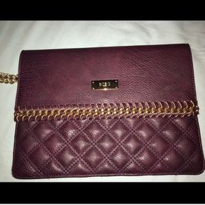 BCBG Handbags - BCBG burgundy envelope