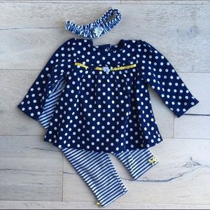 Little Me Other - Little Me Girls' 3 Piece Tunic Set