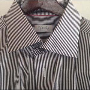 Eton Other - $275 ETON Designer Superior  Dress Shirt 44 17.5