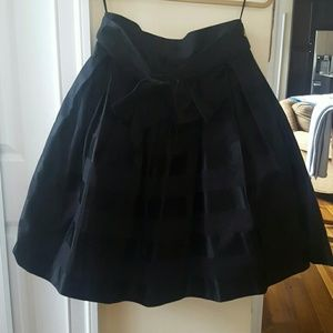 Rimini Dresses & Skirts - Black full skirt with bow