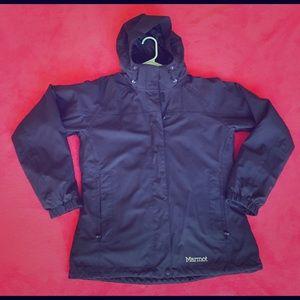 Marmot Jackets & Blazers - Marmot midnight blue tri-climate jacket