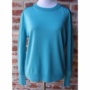 Acne Sweaters - ACNE STUDIOS Turquoise Blue Sweater Large L EUC