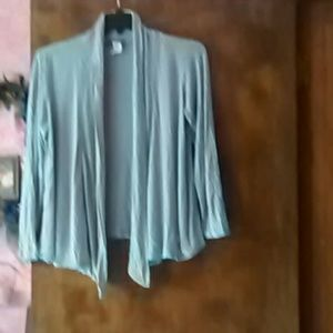 CKW  Tops - Gray CKW cardigan sweater