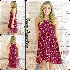 Pretty Persuasions Dresses & Skirts - NWT Floral Print Sleeveless Dress