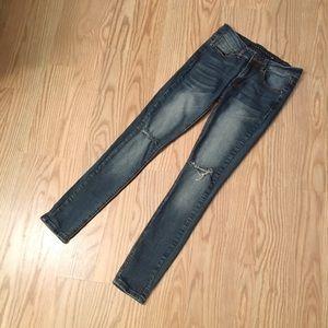 Tinseltown Denim - TINSELTOWN distressed skinny jeans