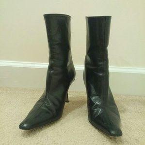 Jimmy Choo Shoes - Jimmy Choo black leather boot