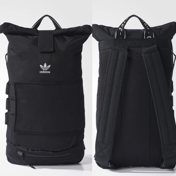 Adidas original roll up Backpack BQ3553 Japan Kata 34d3ccb9ad451