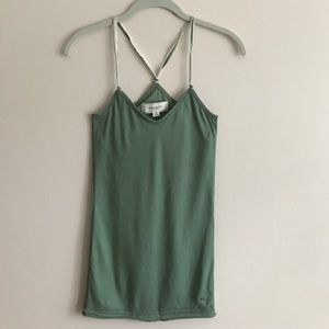 Abercrombie & Fitch Tops - Abercrombie & Fitch green tank