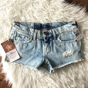 Mavi Pants - NWT Mavi distressed denim shorts