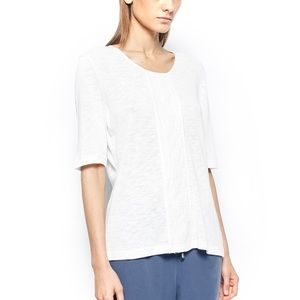 Gerry Weber Tops - Lace Panel White T-Shirt