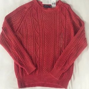 Polo Ralph Lauren SWEATER  Fisherman CABLE COTTON