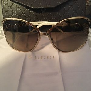 Authentic Gucci Aviators NEVER WORN