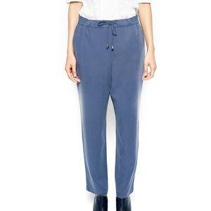 SAMOON Pants - Casual Blue Trousers Samoon by Gerry Weber