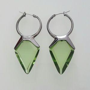 Bar III Jewelry - BAR III Glass stone drop earrings