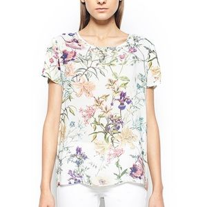 Gerry Weber Tops - RELAXED FIT FLORAL PRINT BLOUSE