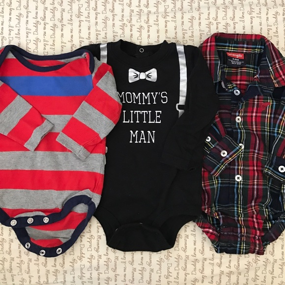 One Pieces - 👶🏻 3-pk Boy Onesies 👶🏻