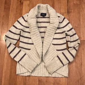American Eagle shawl collar cardigan