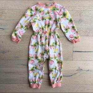 Rosie Pope Other - Rosie Pope Baby Girls' Romper in Kiwi Grapefruit