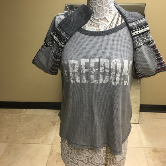 97% off Free People Tops - Free People Freedom thermal with fair ...