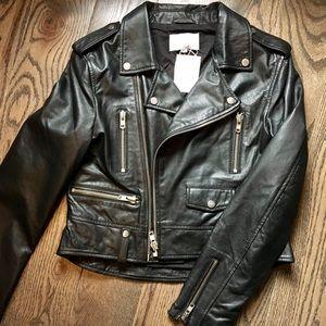 Walter Baker Jackets & Blazers - Walter Baker Leather Moto Jacket