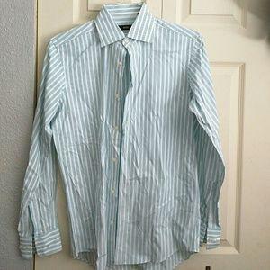 Hugo Boss stripped dress shirt