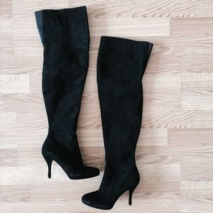 Via Spiga Suede OTK boots