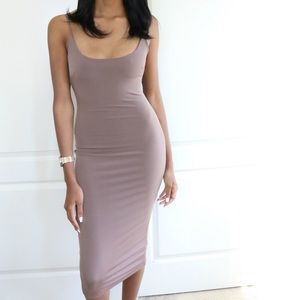 Jaded Affairs Dresses & Skirts - Cocoa Cami Midi Dress