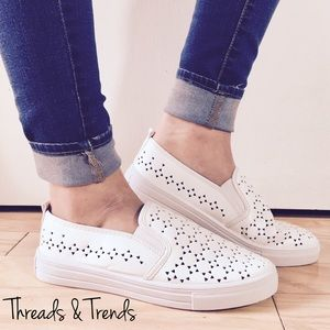 Threads & Trends Shoes - 🌸🆕 Slip On Loafer Sneakers