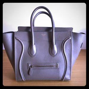 Celine Handbags - Authentic Celine luggage tote /GORGEOUS COLOR