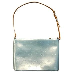 Louis Vuitton Vernis Houston Tote Light Blue