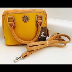 Giani Bernini Handbags - ⚡️NWT Giani Bernini mini tote bag; crossbody purse